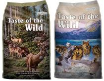 Taste of the Wild - Pine Forest + Wetlands Wild Fowl 2x13kg