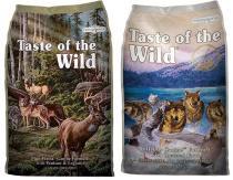 Taste of the Wild - Pine Forest + Wetlands Wild Fowl 2x13kg