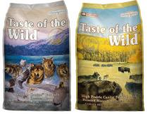 Taste of the Wild - Wetlands Wild Fowl + High Prairie 2x13kg