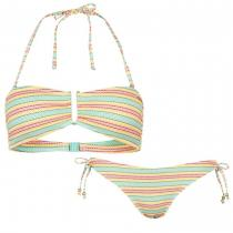 ONeill Striped Bikini Green