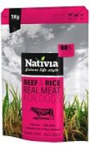 NATIVIA REAL MEAT BEEF+RICE 8kg