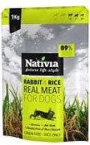 NATIVIA REAL MEAT RABBIT+RICE 1kg