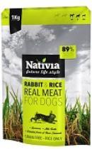 NATIVIA REAL MEAT RABBIT+RICE 8kg