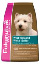 EUKANUBA DOG BN WEST HIGH WHITE TERRIER 2,5kg