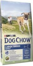 PURINA DOG CHOW ADULT LARGE BREED TURKEY+RICE 14kg