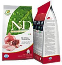 N&D GRAIN FREE DOG PUPPY S/M CHICKEN+POMEGRANATE 12kg