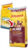JOSERA dog BALANCE/light/senior 15kg