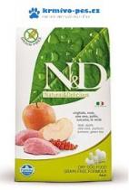 N&D GF DOG Adult Mini Boar & Apple 800g