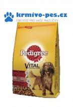 Pedigree Dry Adult Small hovězí a zelenina 12kg
