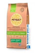 PETKULT dog MINI ADULT lamb/rice 2kg
