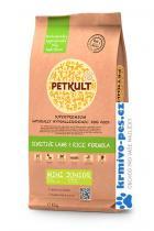 PETKULT dog MINI JUNIOR lamb/rice 12kg