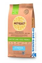 PETKULT dog STARTER lamb/rice 12kg