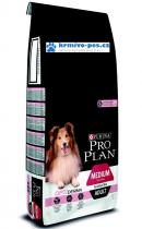 ProPlan Dog Adult Medium Sens.Skin 14kg Optiderma