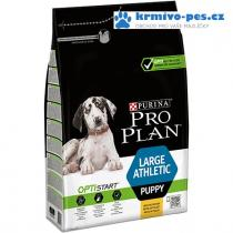 ProPlan Dog Puppy Large Athletic 3kg Optistar