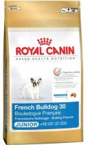 Royal canin Breed Fr. Buldoček Junior 1kg