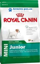 Royal canin Kom. Mini Junior 7kg + 1kgzdarma