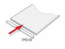 Lanitplast PC U profily 4 mm pro skleník DODO 8x12