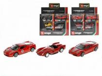 Mikro Trading Auto Bburago 1:43 Ferrari Race & Play 12druhů