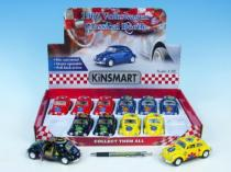 Mikro Trading Auto Kinsmart VW BEETLE classical hippies 13cm