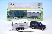 Mikro Trading Auto Land Rover Defender 13cm s přívěsem 14 cm