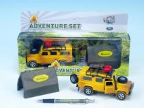 Mikro Trading Auto Land Rover Defender 14cm se stanem