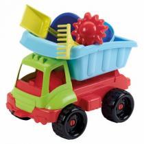 Ecoiffier Nákladní autíčko s formičkami 34 cm