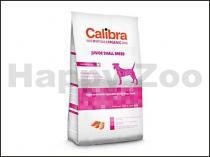 CALIBRA Dog Hypoallergenic Junior Small Breed Chicken & Rice 2kg