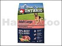 ONTARIO Adult Large Beef & Turkey 2,25kg