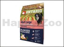 ONTARIO Adult Large Chicken & Herbs 2,25kg