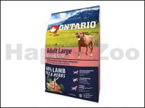 ONTARIO Adult Large Lamb, Turkey 2,25kg