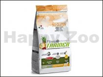 TRAINER Fitness3 No Gluten Adult Medium & Maxi with Lamb & Rice 12,5kg
