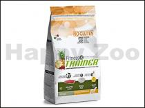 TRAINER Fitness3 No Gluten Adult Medium & Maxi with Lamb & Rice 3kg