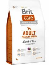 Brit Care Dog Adult Medium Breed Lamb & Rice NOVÝ 1 kg
