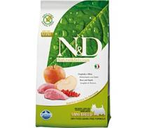 N&D Grain Free Dog Adult Mini Boar & Apple 0,8 kg