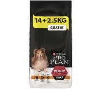 PRO PLAN Dog Adult Medium 14+2,5 kg zdarma