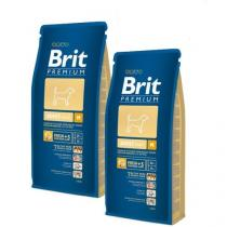 Brit Premium Dog Adult M 2 x 15 kg +