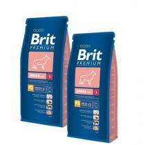 Brit Premium Dog Junior L 2 x 15 kg +