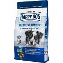 HAPPY DOG MEDIUM Junior 25 10 kg Konzerva HAPPY DOG Rind Pur - 100% hovězí