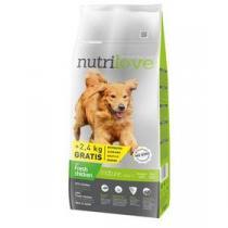 Nutrilove Dog dry Mature 7+ fresh chicken 12kg + 2,4kg