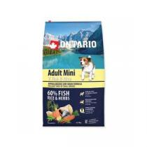 Ontario Adult Mini 7 Fish & Rice 6,5kg +