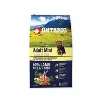 Ontario Adult Mini Lamb & Rice 6,5kg +