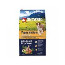 Ontario Puppy Medium Lamb & Rice 6,5kg +