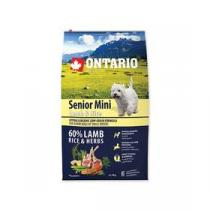Ontario Senior Mini Lamb & Rice 6,5kg +