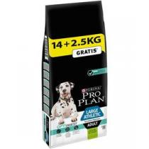 Purina Pro Plan LARGE ADULT Athletic Sensitive Digestion Jehně 14 kg + 2,5 kg +