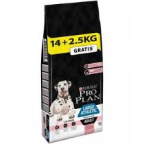 Purina Pro Plan LARGE ADULT Athletic Sensitive Skin Losos 14 + 2,5 kg +
