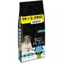 Purina Pro Plan LARGE ADULT Robust Sensitive Digestion Jehně 14 kg + 2,5 kg +