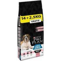 Purina Pro Plan LARGE ADULT Robust Sensitive Skin Losos 14 + 2,5 kg +