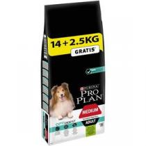 Purina Pro Plan MEDIUM ADULT Sensitive Digestion Jehně 14 kg + 2,5 kg +