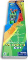 Luk plastový dětský set se 4 šípy s přísavkami