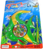 Hra rybičky dětský magnetický rybolov set s udicí na kartě